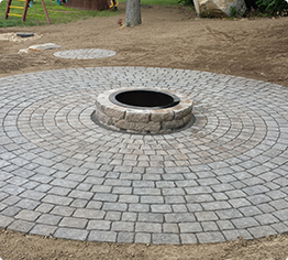 fire pit installation nh