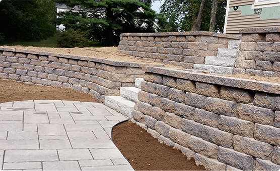 One of our NH retaining walls