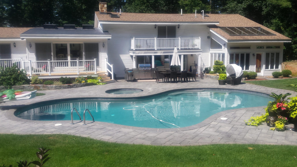 Pool patio property in NH